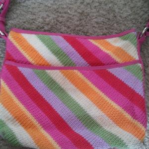 SAK multi-color women's summer shoulder bag